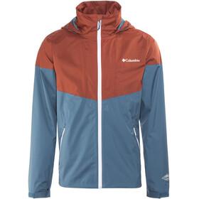 Columbia Inner Limits Jacket Men Blue Heron/Rusty